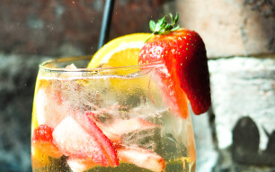 try our specialty cocktails like the sangria fizz